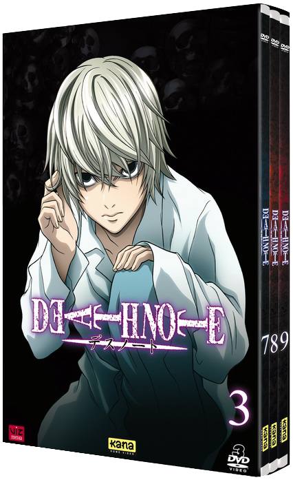 Death note box 3 VO/VF