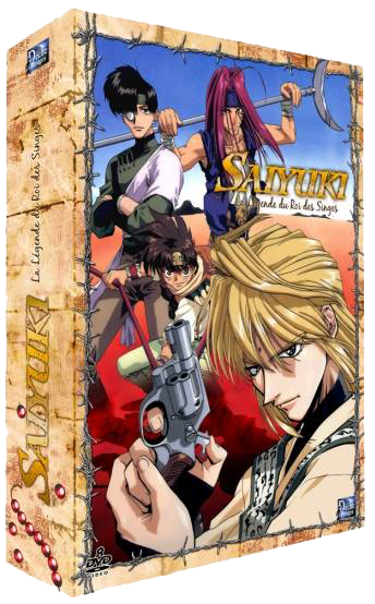 Saiyuki - Collector VO/VF 2010 BOX 1 [DVD 5/8]